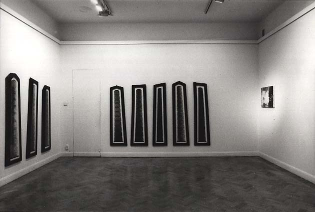 installation view Galleri Engström 1989