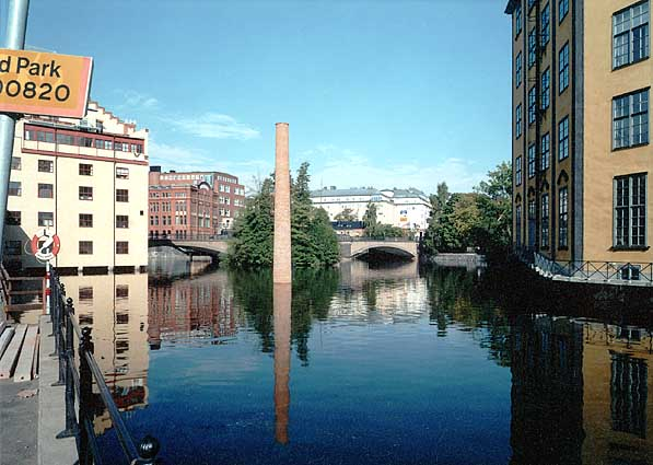 Jan Svenungsson – The Fifth Chimney - Norrköping, 1999