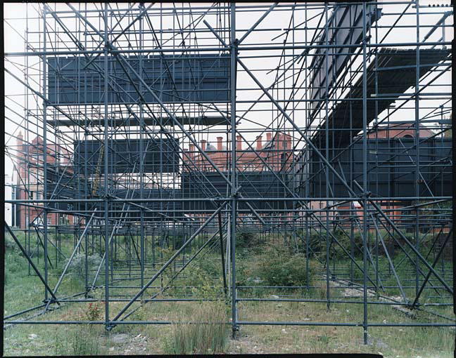 Jan Svenungsson - Liverpool Project - no. 54 (Scaffolding and Signs)