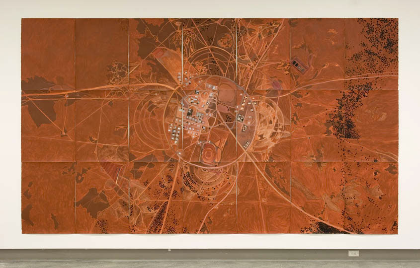Jan Svenungsson - A Place on Earth - at RMIT Faculty Gallery, Melbourne 2007