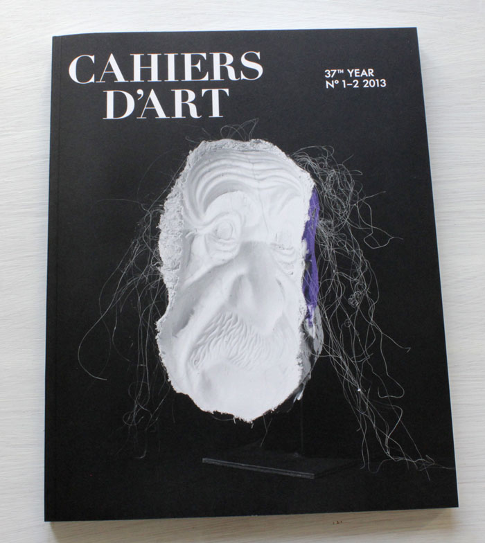 Cahiers d'Art No. 1-2 2013