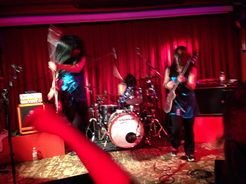 shonen knife live in Berlin 2014